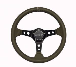 GRANT #1205 Military Green with Camo Center Steering Wheel