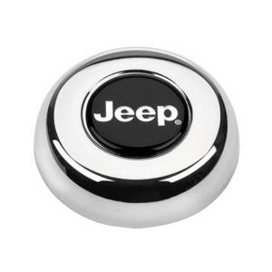 GRANT #5695 Chrome Horn Button-Jeep
