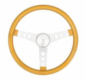 GRANT #8467 Steering Wheel Mtl Flake Gold/Spoke Chrm 15