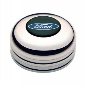 GT Performance #11-1021 GT3 Horn Button Ford Logo Color Emblem
