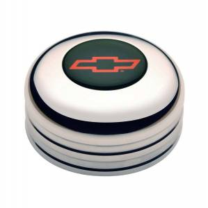 GT Performance #11-1022 GT3 Horn Button Chevy Bow Tie Red