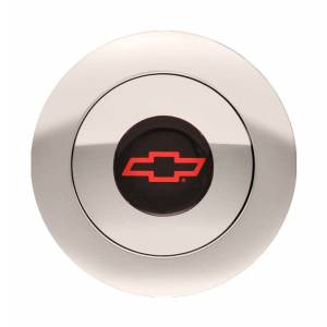 GT Performance #11-1162 GT9 Horn Button Chevy Bow Tie Red