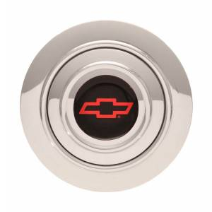 GT Performance #11-1242 GT9 Horn Button Chevy Bow Tie Red