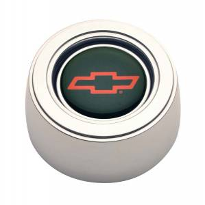 GT Performance #11-1522 GT3 Horn Button Chevy Red Bow-Tie Hi-Ris