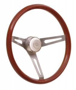GT Performance #36-5457 Steering Wheel GT3 GT Retro Wood