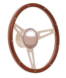 GT Performance #38-4247 Steering Wheel GT9 Retro Cobra Wood