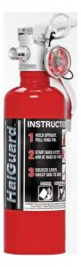 H3R PERFORMANCE #HG100R Fire Ext 1.4lb Halguard Red