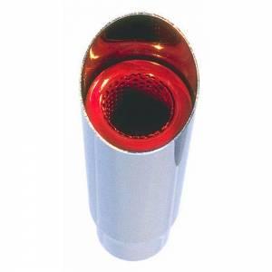 HEDMAN #17121 Exhaust Tip W/Resinator 2 1/4in Inlet