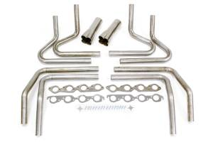 HEDMAN #65640 2in. BBC Weld Up Kit- 3.5in. Weld On Collector