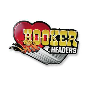 HOOKER #10145HKR Hooker Metal Embossed Sign