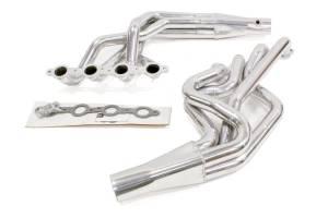 HOOKER #2298-1HKR GM LS S/C Swap Headers 1-7/8 Silver Ceramic