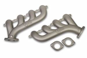 HOOKER #8501-4HKR GM LS Cast Iron Exhaust Manifolds Ti- Finish