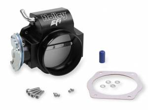 HOLLEY #112-589 90mm LS Throttle Body w/Tapered Bore - Black