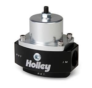 HOLLEY #12-845 HP Billet Fuel Press. Regulator w/Bypass