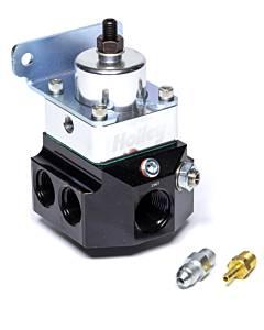 HOLLEY #12-885 Fuel Pressure Regulator Double Adjustable 4-Port
