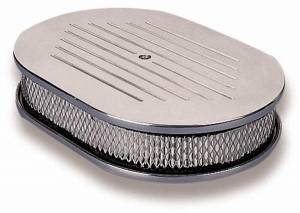 HOLLEY #120-141 Ball Milled Polished Air Cleaner