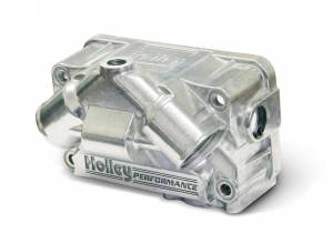 HOLLEY #134-71S Primary V Fuel Bowl - Alum w/Clear Sight Glass