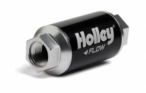HOLLEY #162-562 Billet HP Fuel Filter - 3/8NPT 40-Micron 100GPH
