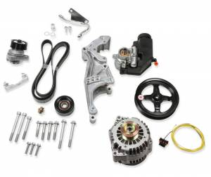 HOLLEY #20-156 Low LS Drive System Kit LH w/Alt/PS wo/A/C