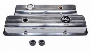 HOLLEY #241-137 SBC Muscle Series Valve Covers  (pair)