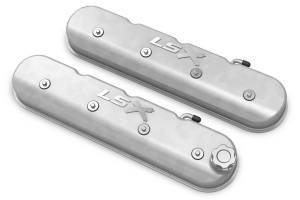 HOLLEY #241-405 LS Series Valve Covers w/LSX Logo