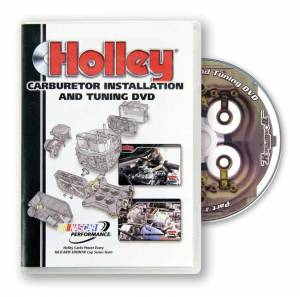 HOLLEY #36-381 DVD - Carb. Installation Video
