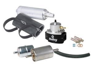 HOLLEY #526-4 EFI Fuel System Kit w/Super Stock Hose