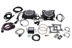 HOLLEY #550-528 Sniper 4150 2x4 EFI Kit - Black