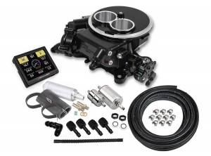 HOLLEY #550-850K Sniper 2300 EFI Master Kit Black Finish