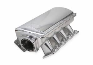 HOLLEY #832141 Chevy LS Hi-Ram SM Fabricated EFI Intake