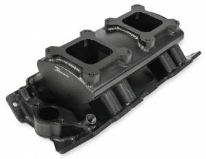 HOLLEY #835062 BBC Sniper SM Fabricated Intake Manifold - Carb