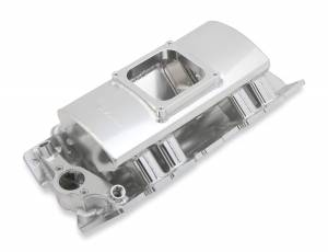 HOLLEY #835161 BBC Sniper SM Fabricated Intake Manifold - Carb