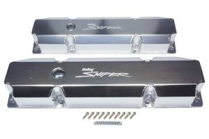 HOLLEY #890005 Sniper Fabricated Valve Covers  BBM Tall