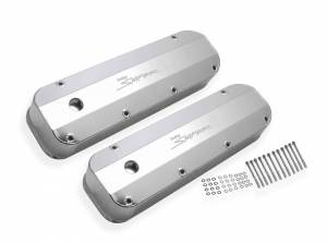 HOLLEY #890007 Sniper Fabricated Valve Covers  BBF 429/460 Tall