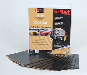 HUSHMAT #10200 Ultra Door Kit- 10 pc 12in.x12in. Black