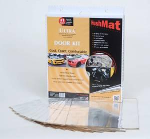 HUSHMAT #10201 Ultra Door Kit- 10 pc 12in.x12in. Silver