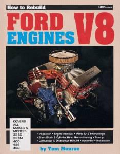 HP BOOKS #978-089586036-1 Rebuild Ford V-8