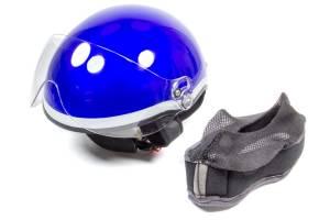 HEAD PRO TECH #1003 Helmet Paramedic EMT1 Royal Blue XXS-XS 52-55 * Special Deal Call 1-800-603-4359 For Best Price