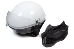 HEAD PRO TECH #1006 Helmet Paramedic EMT1 White Blue XXS-XS 52-55 * Special Deal Call 1-800-603-4359 For Best Price