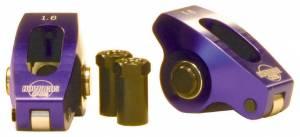 HOWARDS RACING COMPONENTS #90073 Roller Rocker Arms - SBC 1.6 Ratio 7/16 Stud