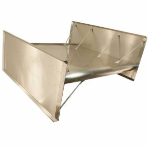 HEPFNER RACING PRODUCTS #FLT0510-S Top Wing Flat Dimpled Super Side Boards