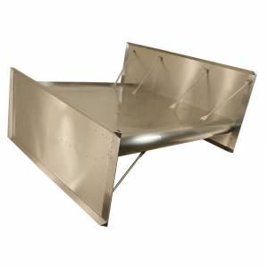 HEPFNER RACING PRODUCTS #FLT0510 Top Wing Flat Dimpled
