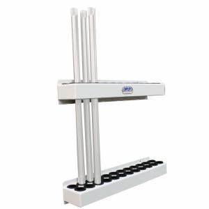 HEPFNER RACING PRODUCTS #HRP6348-WHT Torsion Bar Rack for Sprint Bars