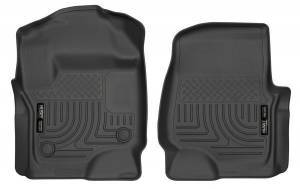 HUSKY LINERS #13301 17-   Ford F250 Front Floor Liners Black