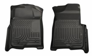 HUSKY LINERS #18381 08 F250 ALL Cabs Front Floor Liners