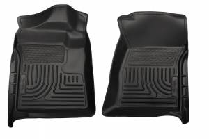 HUSKY LINERS #18721 12-   F250 Reg Cab Floor Liners Black
