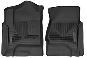 HUSKY LINERS #53111 GM X-Act Contour Floor Liners Front Black