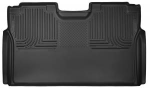 HUSKY LINERS #53491 Ford X-Act Contour Floor Liners Rear Black