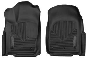 HUSKY LINERS #53561 Dodge X-Act Contour Flr Liners Front Black