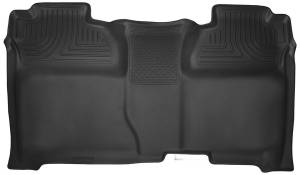 HUSKY LINERS #53901 GM X-Act Contour Floor Liners Rear Black